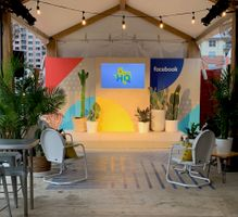 Facebook's event design at SXSW in Austin