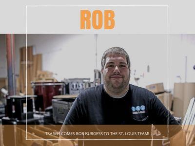 TSV Welcomes Rob Burgess