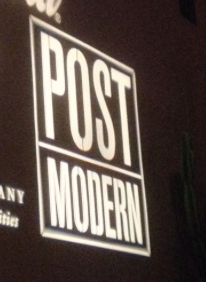 An image of the Post Modern custom gobo