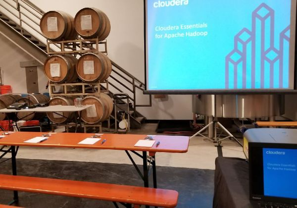host meeting in a fun atmosphere like a brewery