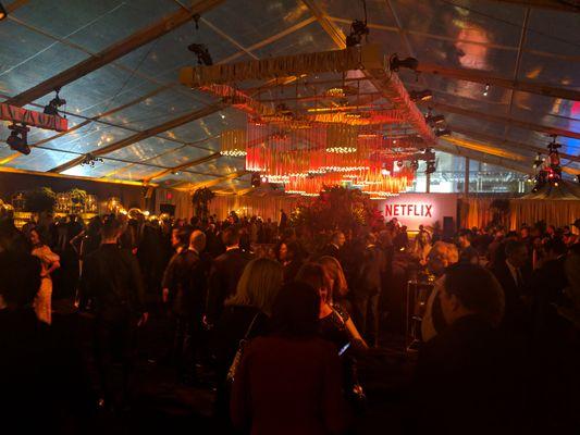 Netflix golden globes after party