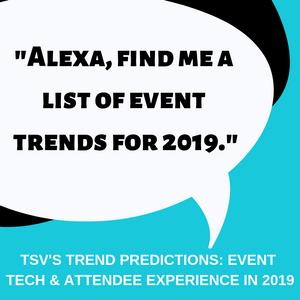 TSV's Trend Predictions 2019