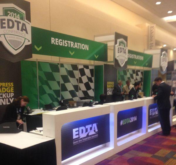 EDTA lit up registration