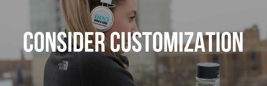 Consider Customization Header