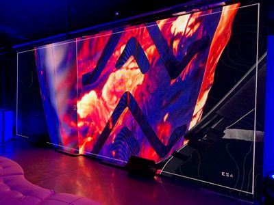 Large LED Video Wall Display at SXSW Austin