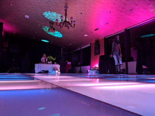 72andSunny's Dance Floor