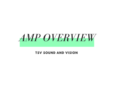 These Are A Few of My Favorite Fenders: Amp Overview