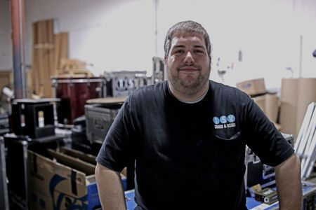 An image of Rob Burgess at TSV Sound & Vision in St. Louis