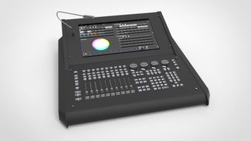 A stock image of the Road Hog 4 Lighting Console