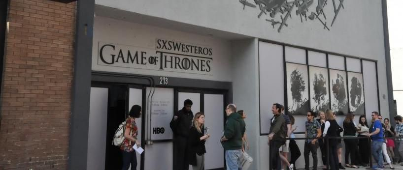 game of thrones and HBO at sxsw