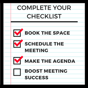 complete your meeting checklist