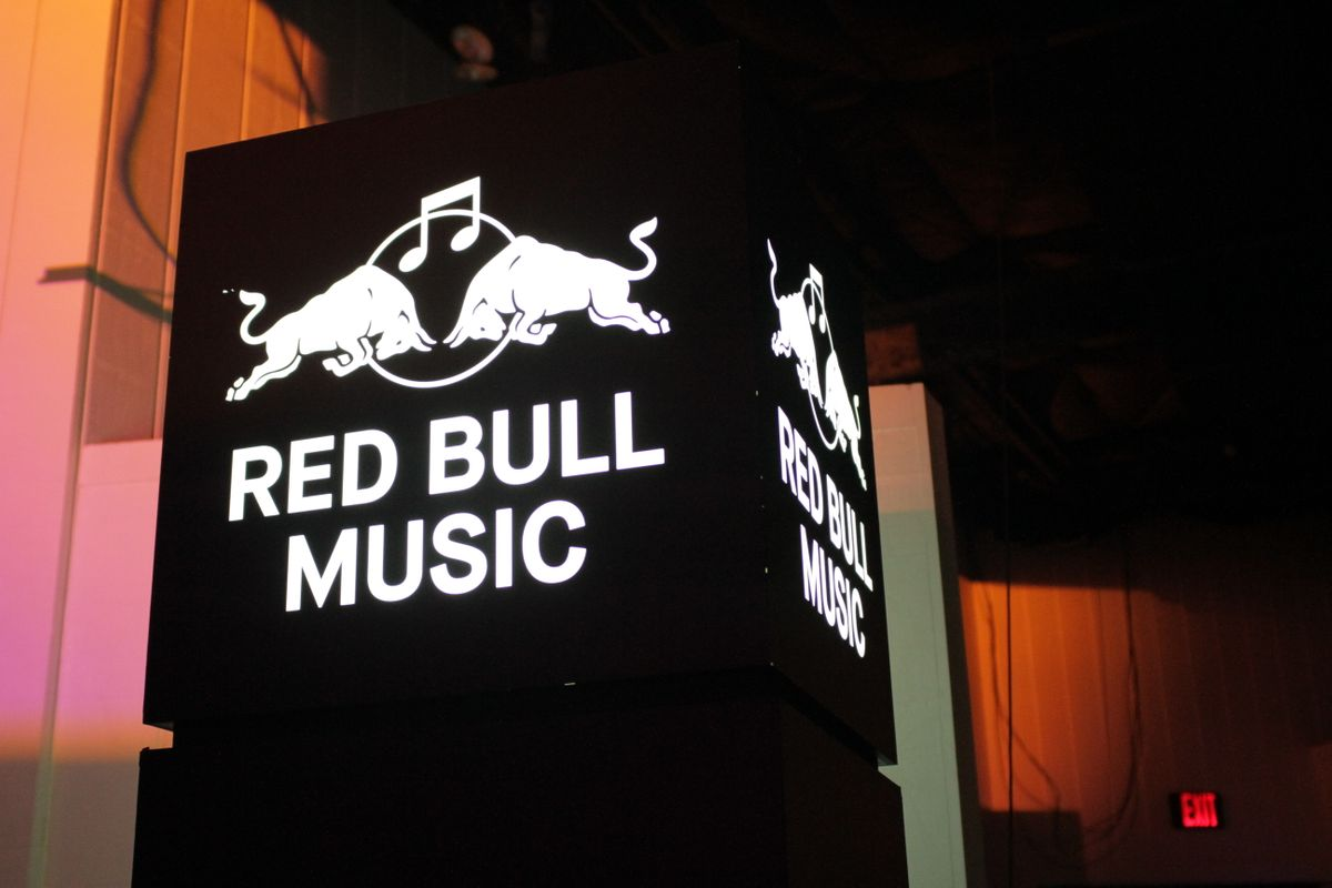 Red Bull music party