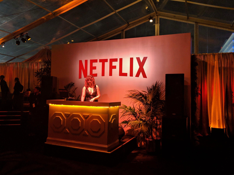 Netflix Party DJ