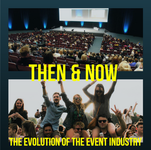 The Evolution of the Event Industry Blog Cover
