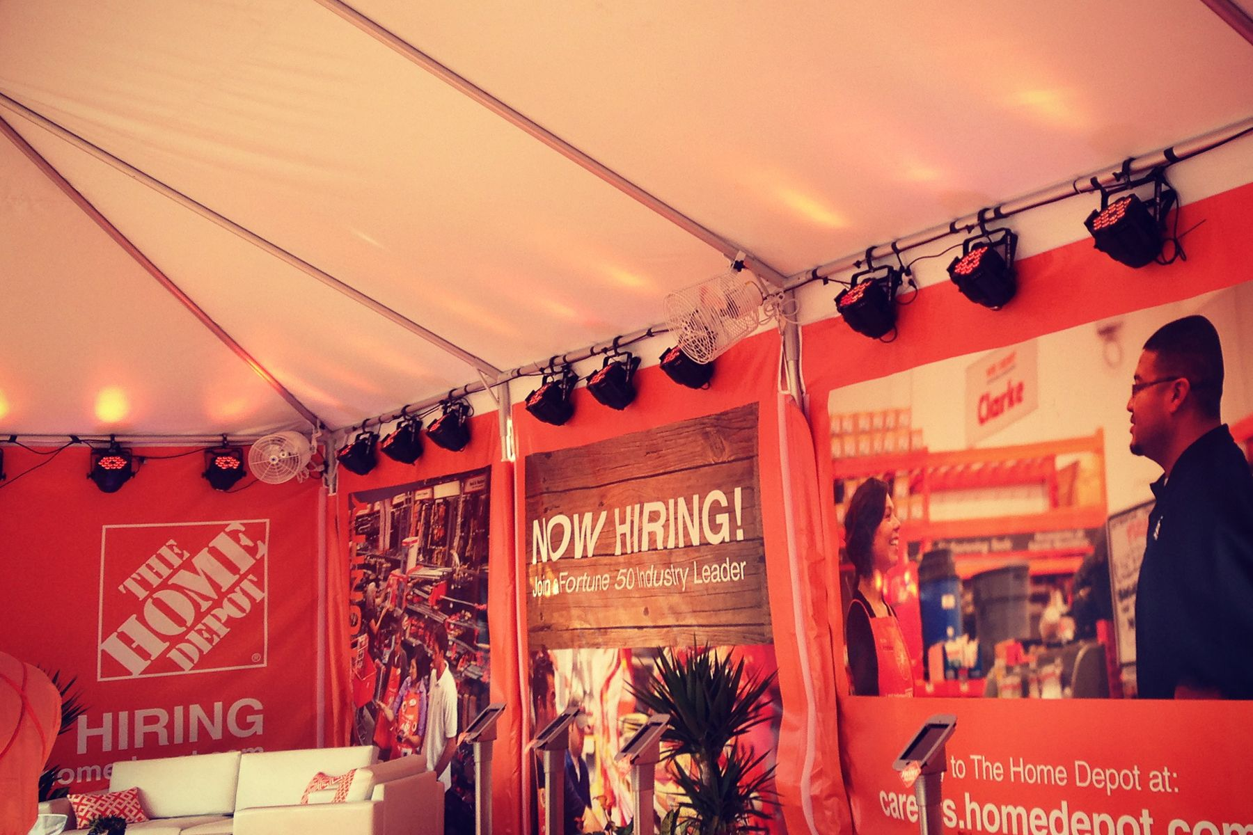Home Depot booth design