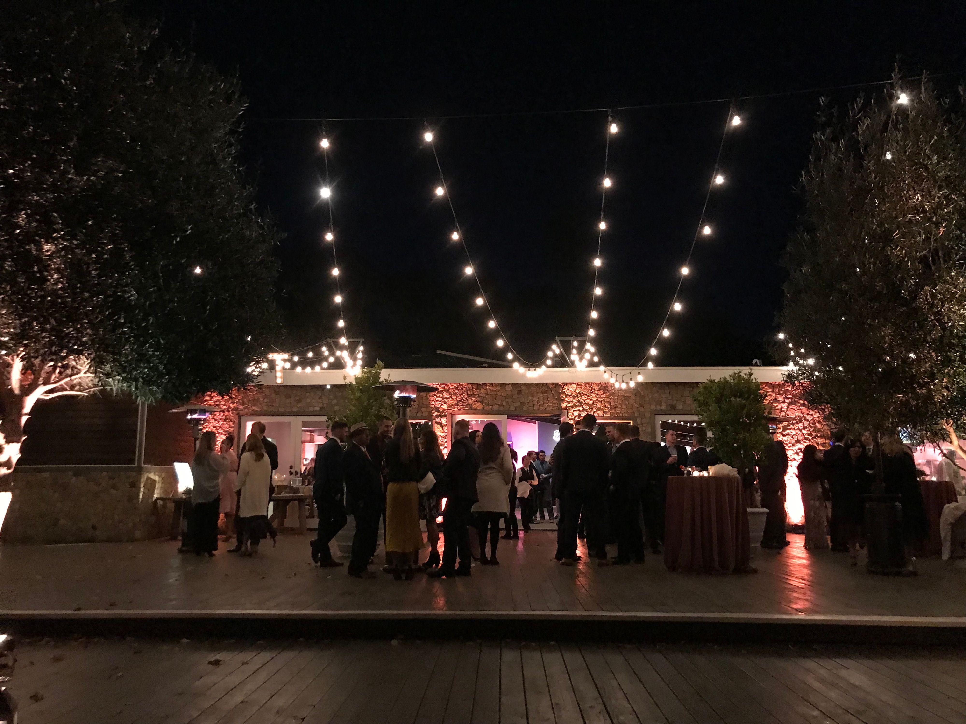 lighting design for wedding