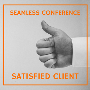 Seamless Conferences | Satisfied Client Blog Cover