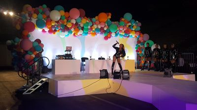 Drag Performer on Stage