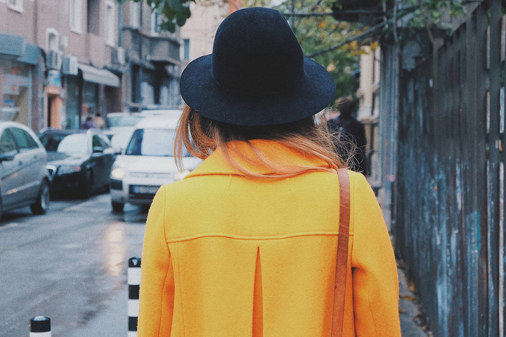 Orange Summer Jacket