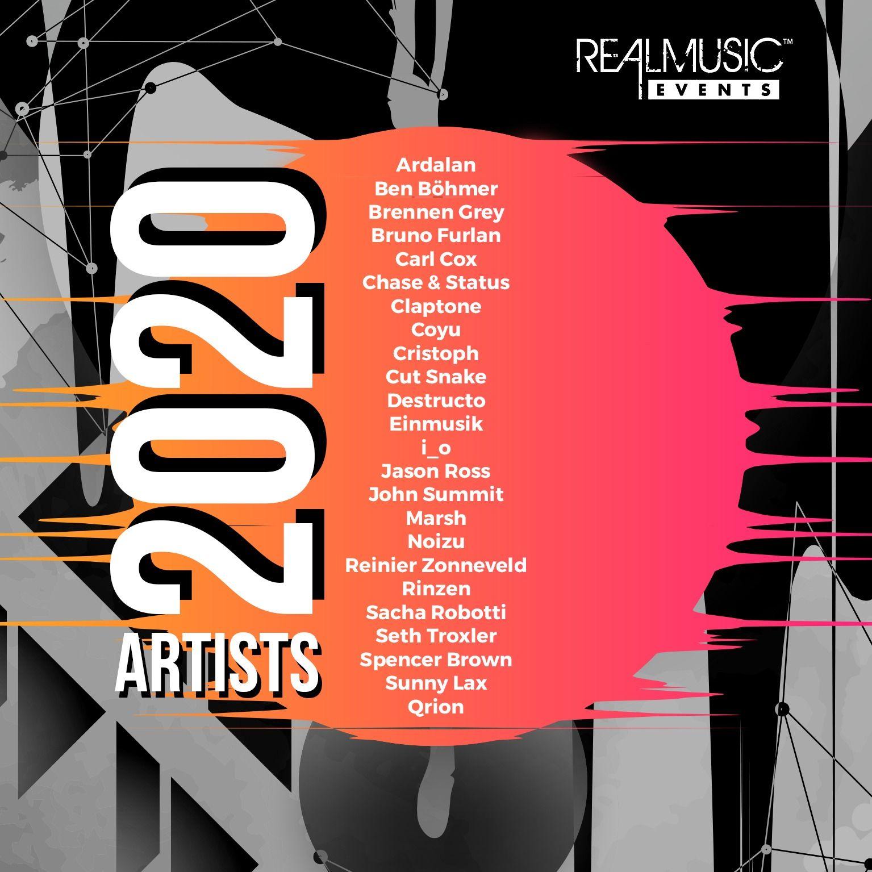 2020 Artist Recap