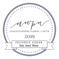 Associated Wedding Planners of Austin Unity Award recipient in 2019