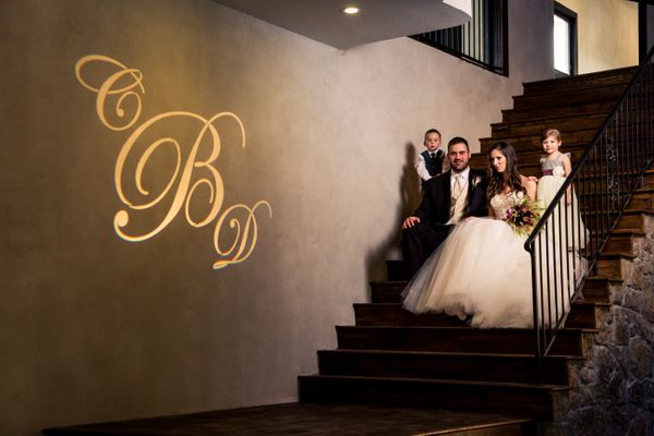 Ma Masion Gilded Affair Wedding Azul Ox gobo2.jpg