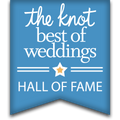 In the Knot's Best of Weddings Hall of Fame