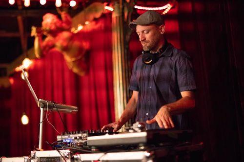 Austin DJ live mixing
