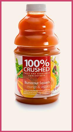 Butternut Squash and Mango Smoothie Puree
