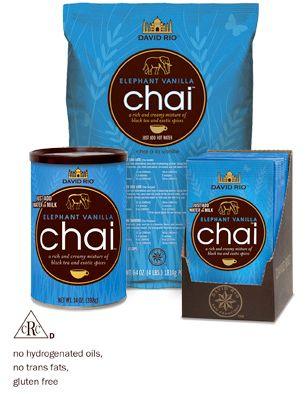 David Rio Chai Elephant Vanilla