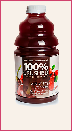 Wild Cherry Cranberry Smoothie Puree
