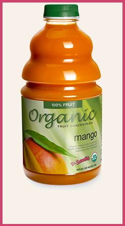 Organic Mango Smoothie Puree