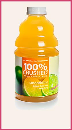 Smooth Lime Puree Distributor