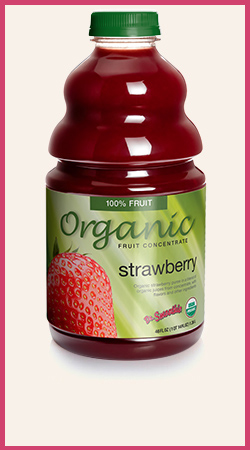 Organic Strawberry Fruit Concentrate