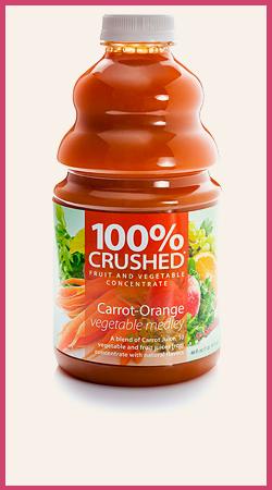Carrot Orange Vegetable Smoothie Supply