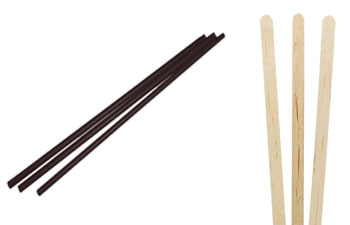 Bulk Wholesale Coffee Stir Sticks and Straws