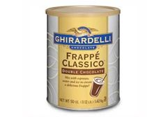 Ghirardelli Frappe Classico Double Chocolate Powder