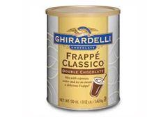 Ghirardelli Frappe Classico Double Chocolate Powder