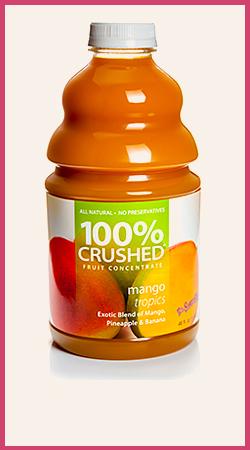 Mango Tropics Smoothie Puree Wholesale