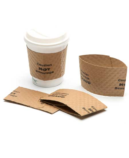 Wholesale Bulk Coffee Cup Jackets