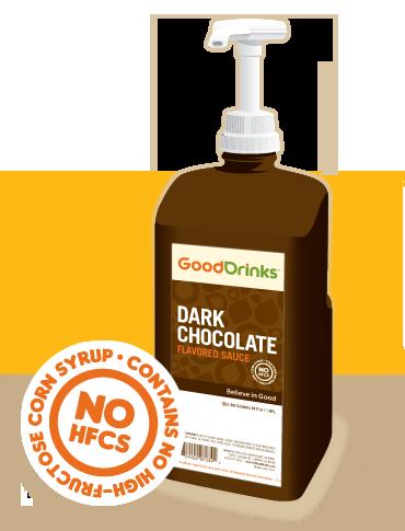 GoodDrinks Dark Chocolate Syrup