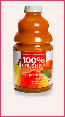 Peach Pear Apricot Smoothie Puree