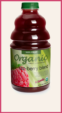 Organic Raspberry Blend Wholesale Puree
