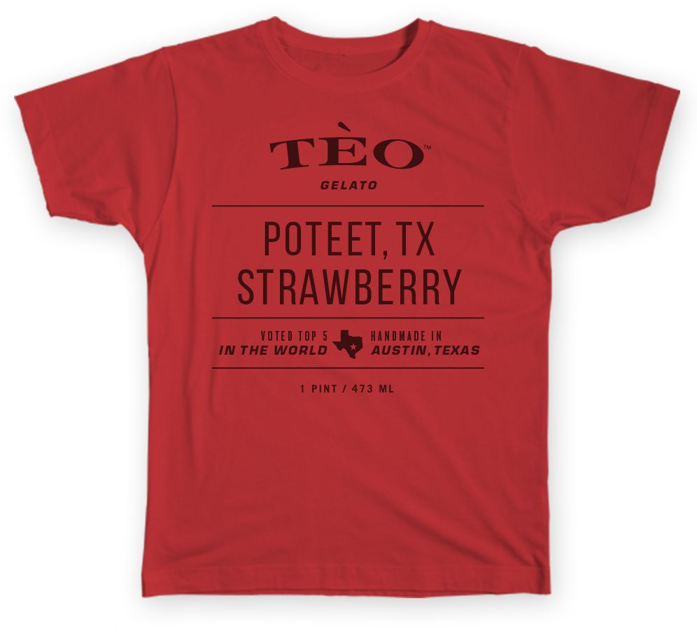teo strawberry t-shirt