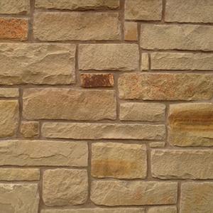 Autumn Blend Chopped Flagstone Wall