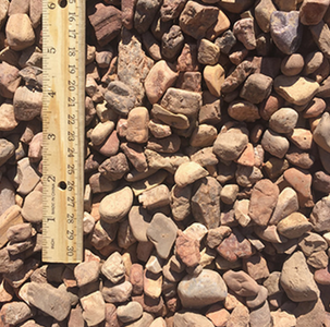 Apache River Rock 5/8 inch