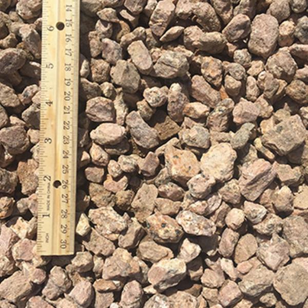 Fairland Pink Gravel half inch to 1 inch