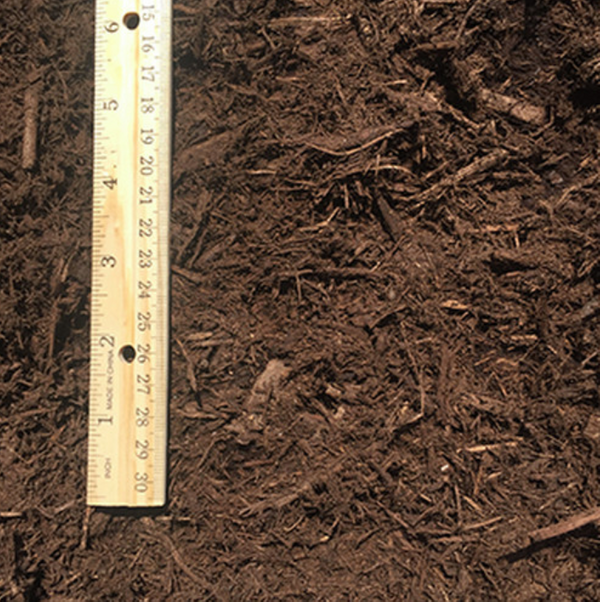 Brown Hardwood Bark Mulch