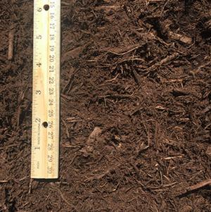 Brown Hardwood Bark Mulch