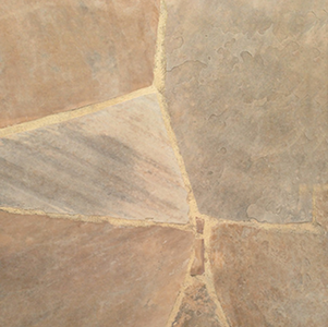 Arizona Buff Flagstone Patio